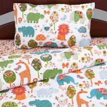 Комплект постельного белья для малышей перкаль Зоосад Трехгорная мануфактура