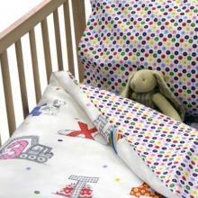 Комплект постельного белья для малышей перкаль Азбука Трехгорная мануфактура