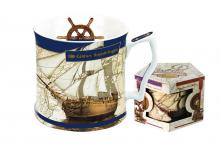 Кружка Английский фрегат 18 века
