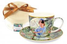 Чашка с блюдцем Летний день, в подарочной упаковке