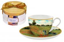 Чашка с блюдцем Маковое поле (Моне)