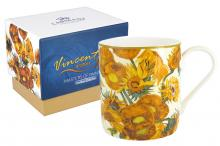 Кружка Подсолнухи (Ван Гог),  в подарочной упаковке